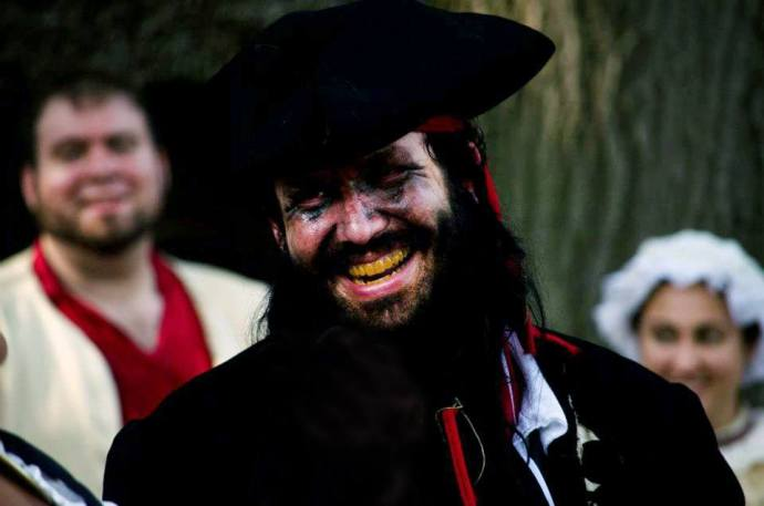 Blackbeard at the New England Pirate Faire
