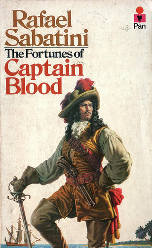 Fortunes of Captain Blood book cover