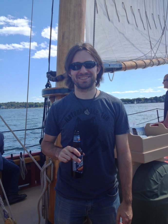 Sam Adams and sailing? Perfect Sunday.