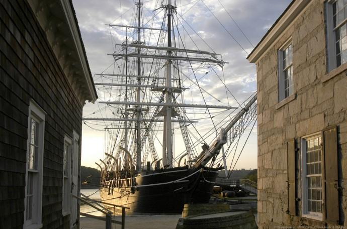 Chales W. Morgan whaling ship